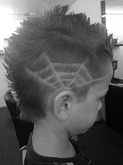 Boys Web Haircut